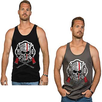 Nine Line Apparel Fear No Flame Jersey Tank Top