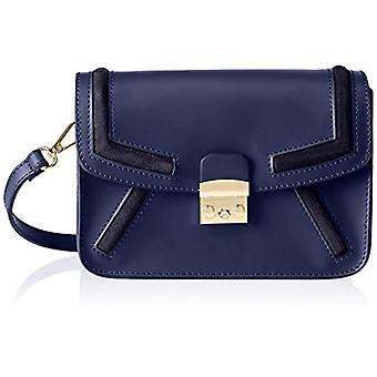 Chicca Bags 1603 Blue Women's shoulder bag (Blue) 22x15x99 cm (W x H x L)