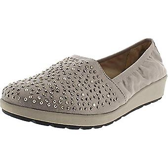 WHITE MOUNTAIN Womens Lewis Studded Wedge Casual Shoes