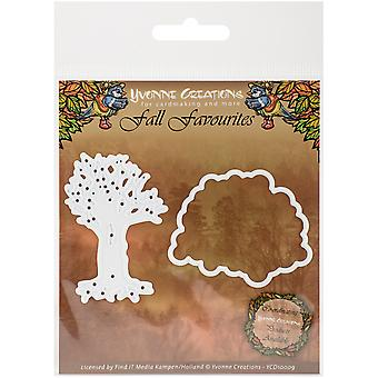 Hitta det handel Yvonne Creations höst favoriter Die-Seasonal Tree