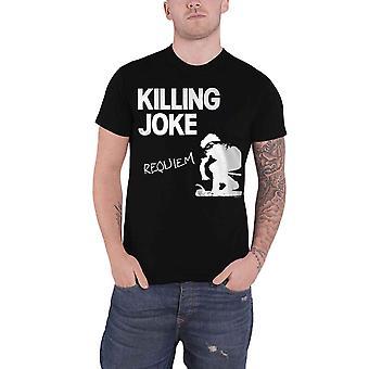 Killing Joke T Shirt Requiem Band Logo new Official Mens Black