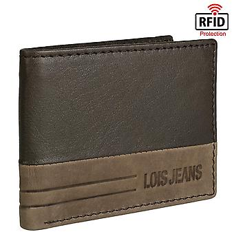 Genuine Leather Horizontal Men's Wallet Model Dutton