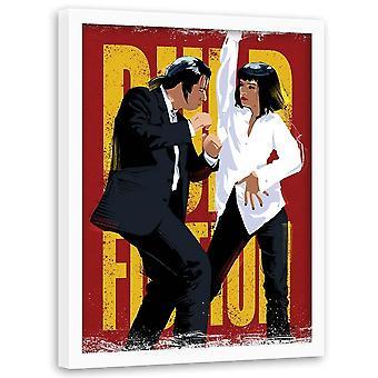 Immagine in cornice naturale, Gangster Dancing
