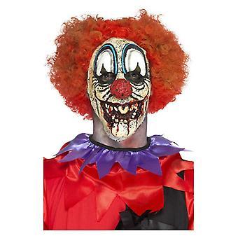 Deluxe Schaumstoff Latex Special FX Clown, Prothetik, rot, mit Klebstoff Fancy Dress Zubehör