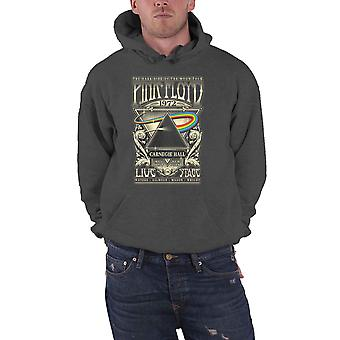 Pink Floyd hoodie Carnegie Hall affisch nya officiella mens Charcoal grå Pullover