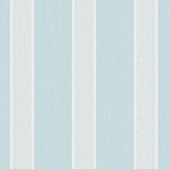 Cavendish Stripe Wallpaper Teal / Silver Fine Decor FD40996