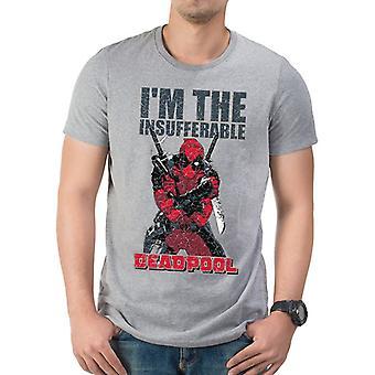 Marvel Deadpool - I ́m The Insufferable T-Shirt