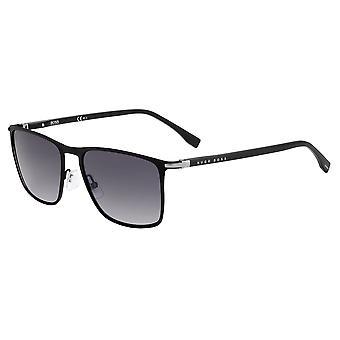 Hugo Boss 1004/S 003/9O Matte Black/Dark Grey Gradient Sunglasses