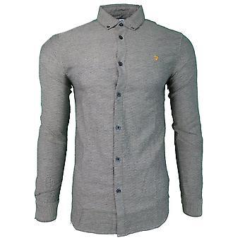 Farah skjorter KREO Slim LS BD shirt