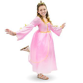 Pink Princess copii ' s costum, 7-9