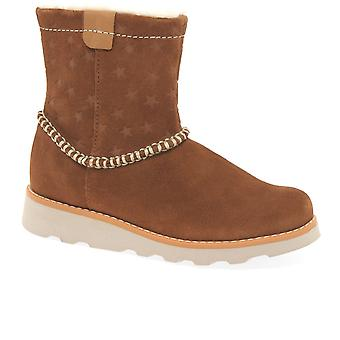Clarks Clarks Crown Piper Girls Boots