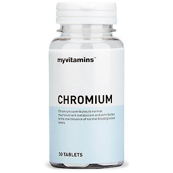 Kromi (90 tablettia)-Myvitamiinit