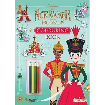 Nutcracker and the Four Realms Colouring Book with Pencils
