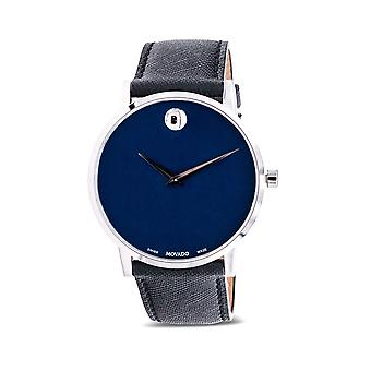 Movado Museum Classic Leather Mens Watch 0607197