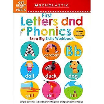 Første breve og phonics gør dig klar til PreK Projektmappe Skolastiske Early Learners Extra Big Skills Projektmappe af elever & Skolastisk Early