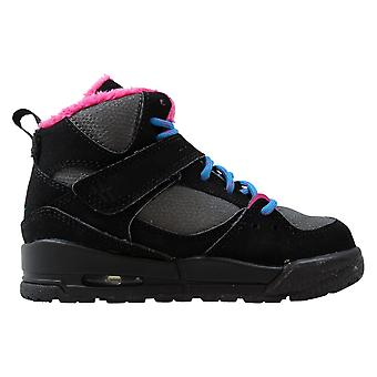 Nike Air Jordan Flight 45 TRK Black/dynamic Blue-dark Grey-vivid Pink 467955-008 Pre-School