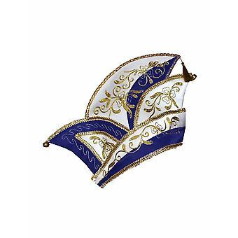 Fjols Cap Carnival Cap Princes Guard Cap Herre kostume Shipmen's outfit