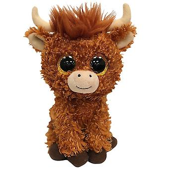 TY Angus Highland Cow Small Plush Soft Toy