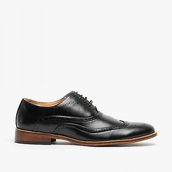 Goor M363a Mens Lace Up 5 Eye Brogue Oxford Chaussure