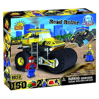 Action Town 160 Piece Construction Road Roller Set