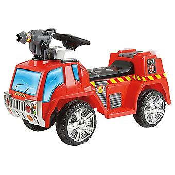 Toyrific Bubble 6V Fire Rescue Engine Corsa elettrica con Bubble Gun Flashing