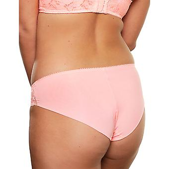 LingaDore 5041B-11 Women's Salema Coral Pink Lace Knickers Panty Full Brief