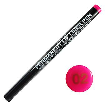 Stargazer Semi Permanent Lipliner Pen No 2 Hot Pink