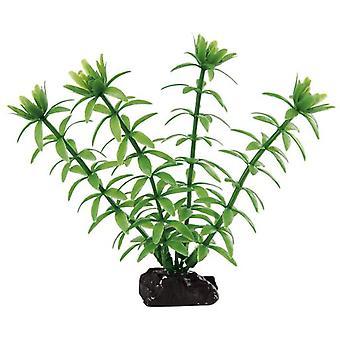 Ferplast 9055 Blue Plastic plant 4 '' (Fish , Decoration , Artificitial Plants)