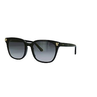 Cartier CT0143S 001 Black/Grey Sunglasses
