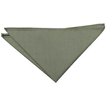 Salbei grün Plain Shantung Pocket Square