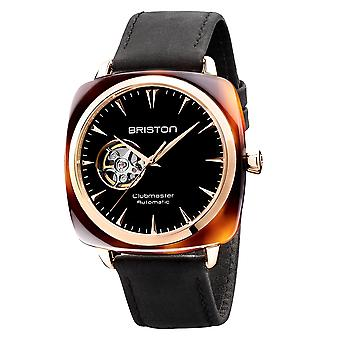 Briston 19740.PRA.TI.1.LVCH Clubmaster Iconic Black Automatic Wristwatch