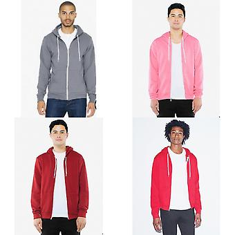American Apparel adulto Unisex Full Zip Hoodie