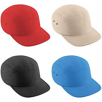 Beechfield llano 5 Retro gorra de béisbol de Panel (paquete de 2)