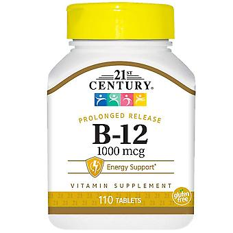 21St century vitamin b-12, prolonged release, 1000 mcg, tablets, 110 ea