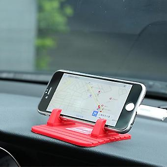 Remax non-slip soft siliconen car pad desktop mount stand lader houder voor iPhone Samsung gps