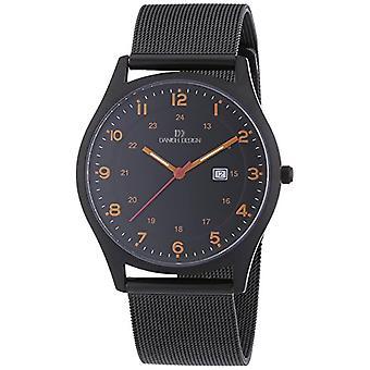 Deens Design-horloge, titanium, quartz analoog mannen (2)