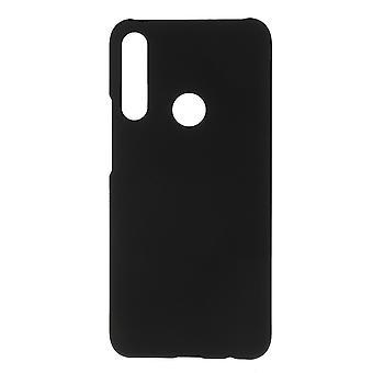 Huawei P Smart Z Gumowana twarda plastikowa powłoka - czarna
