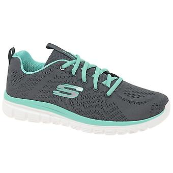 Skechers Graceful Get Connected Womens Sports Shoes