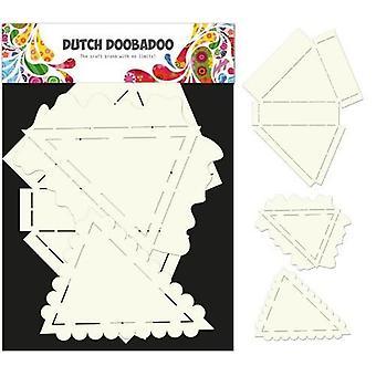 Dutch Doobadoo Dutch Card Art Stencil pie set 3 Ps 3 dlg 470.713.540