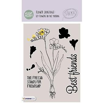Veer & Moon Flower Language A6 Stamps-