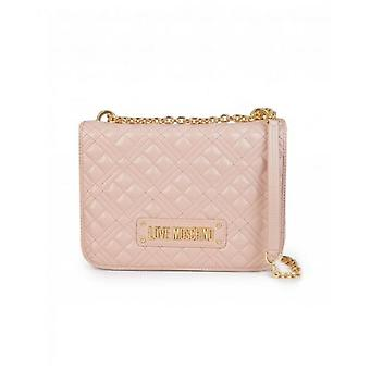 Love Moschino Accessories Love Moschino Classic Logo Quilted Shoulder Bag