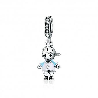 Sterling Silver hänge Charm Little Boy - 5450