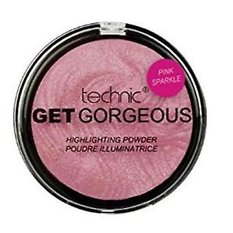 Technic Get Gorgeous Highlighting Powder Pink Sparkle