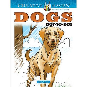 Creative Haven Dogs Dot-to-Dot by Arkady Roytman - 9780486828671 Book