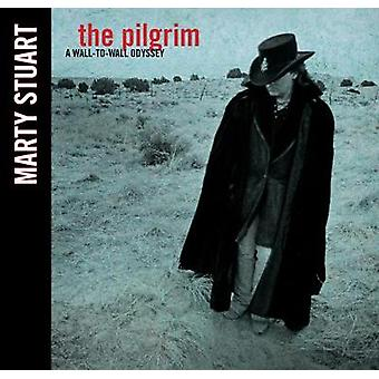 The Pilgrim - A Wall-To-Wall Odyssey by Marty Stuart - 9781947026506 B