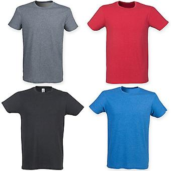 Skinnifit Mens Triblend Short Sleeve T-Shirt