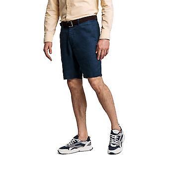 Gant Linen Drawstring Shorts Insignia Blue