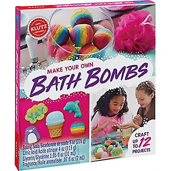 Make Your Own Bath Bombs by Created by Klutz