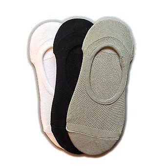 Silky Womens/Ladies Trainer Liners (3 Pairs)
