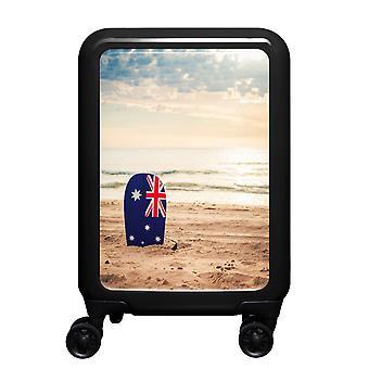 meinTrolley Australian Beach S, 4 rolls, 55 cm, 32 L, Black